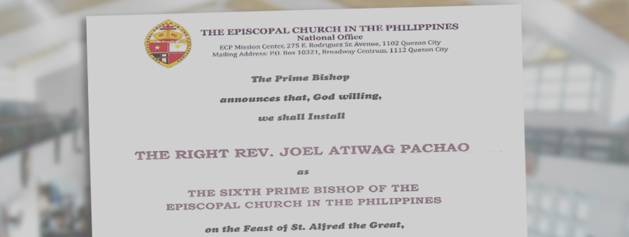 Bishop Pachao Installation