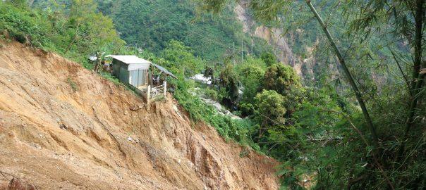 Ompong landslide